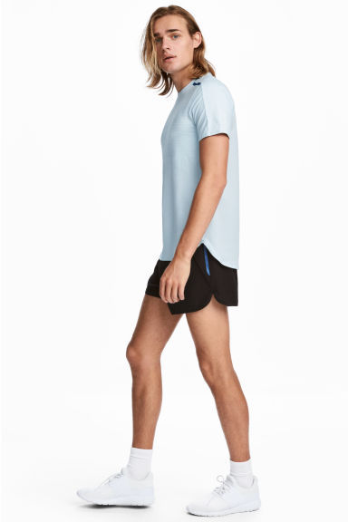Short running court - Noir - HOMME | H&M BE 1