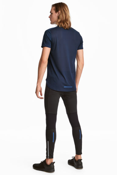 Leggings da running - Nero - UOMO | H&M IT