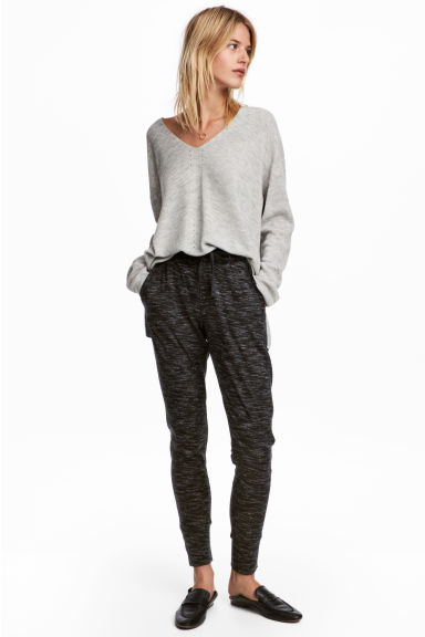 Joggers - Black marl - Ladies | H&M CN 1