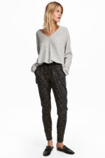 Joggers - Black marl - Ladies | H&M 1