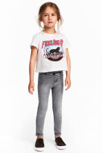 Treggings - Grey/Washed out - Kids | H&M 1