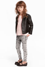 Treggings - Grey/Stars - Kids | H&M CN 1