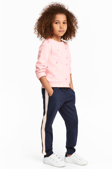 Sweatpants - Dark blue - Kids | H&M CN