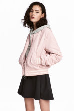 Bomber jacket - Powder pink -  | H&M 1