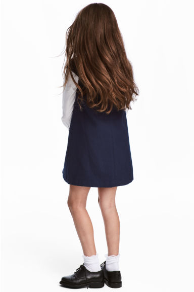 Twill dress - Dark blue - Kids | H&M
