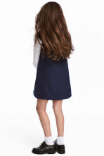 Twill dress - Dark blue - Kids | H&M 1
