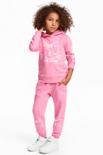 Sweatpants - Pink/Cats - Kids | H&M 1