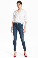 Skinny High Ankle Jeans - Dark denim blue - Ladies | H&M CN 1