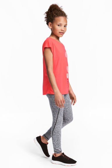 Sportlegging - Grijs gemêleerd -  | H&M BE 1
