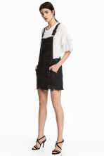 Dungaree dress - Black - Ladies | H&M 1