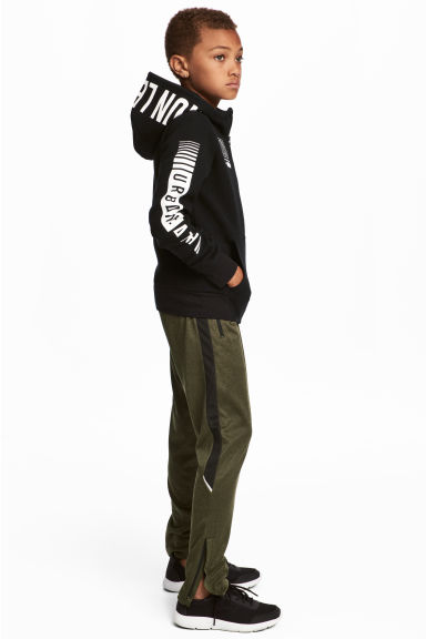 Sports trousers - Dark green - Kids | H&M