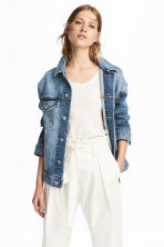 Denim jacket - Denim blue - Ladies | H&M 1
