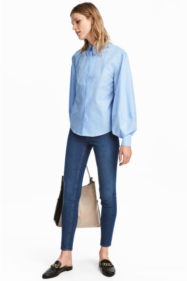 Superstretch-tregging - Denimblauw - DAMES | H&M BE