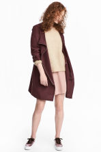 Hooded parka - Burgundy - Ladies | H&M CN 1