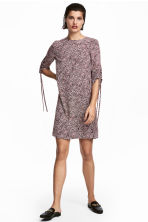 Short dress - White/Patterned - Ladies | H&M 1