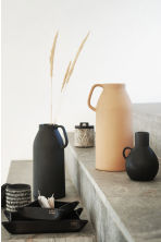 Tall stoneware vase - Black - Home All | H&M CN 1