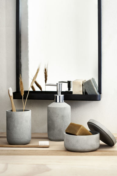 Pompe à savon - Gris clair - Home All | H&M FR