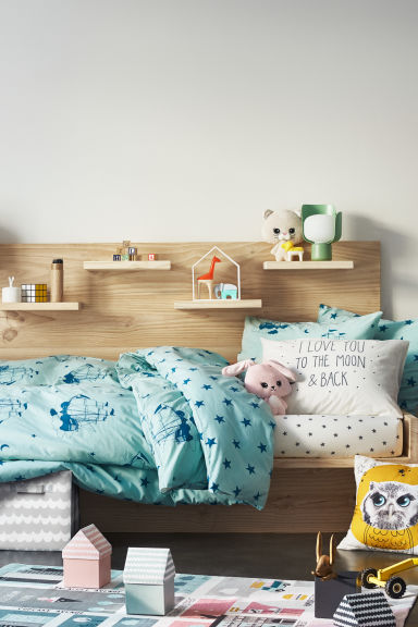 Animal en peluche - Rose clair/lapin - Home All | H&M FR