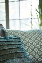 Patterned cushion cover - Moss green - Home All | H&M CA 1