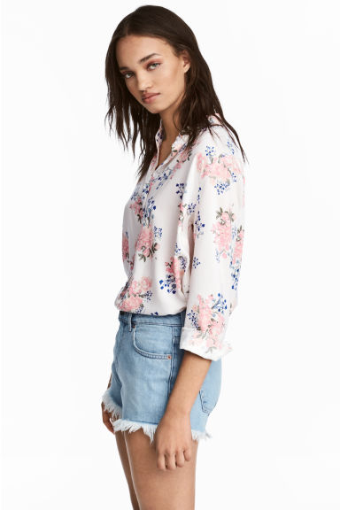 Viscose shirt - Light pink - Ladies | H&M CN