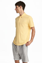 Polo shirt - Yellow - Men | H&M CA 1