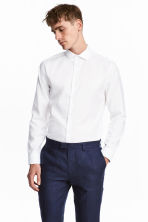 Overhemd van premium cotton - Wit - HEREN | H&M NL 1