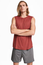Top training - Rouge rouille - HOMME | H&M CH 1