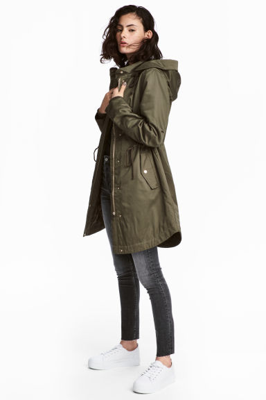 Padded parka Model