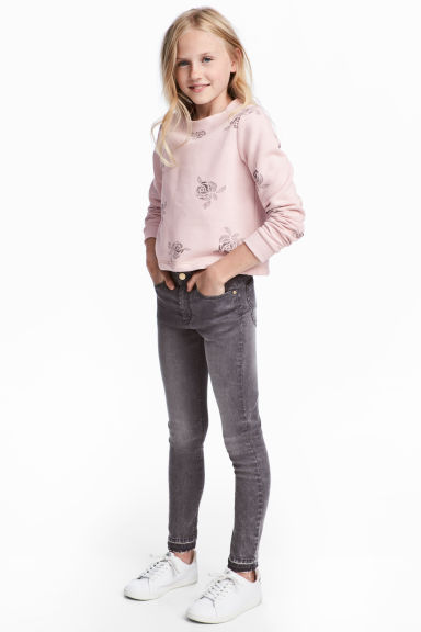 Pantalon super extensible - Gris washed out - ENFANT | H&M CH 1