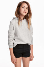 Hooded top - Grey -  | H&M 1