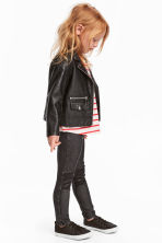 Treggings - Black washed out - Kids | H&M CN 1