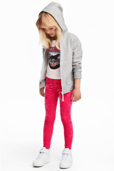 Jersey leggings - Cerise - Kids | H&M GB