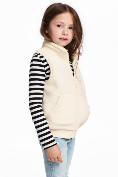 Pile gilet - Natural white - Kids | H&M 1