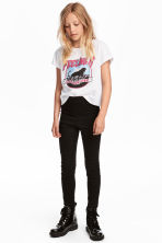 Superstretch Skinny Treggings - Black - Kids | H&M CA 1