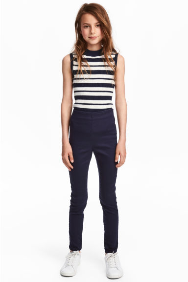 Superstretch Skinny Treggings - Dunkelblau - KINDER | H&M CH 1