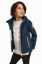 Softshell jacket - Dark blue/tiger - Kids | H&M CA 1