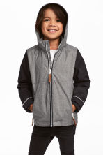 保暖外套 - Grey marl - Kids | H&M 1