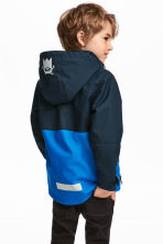 Shell jacket - Dark blue - Kids | H&M CN 1