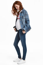MAMA Super Skinny Jeans - Denim blue/Washed - Ladies | H&M 1