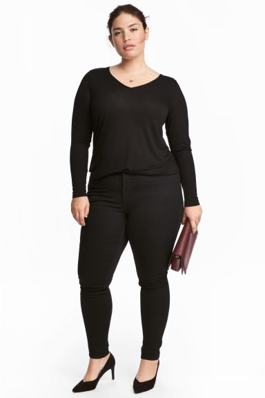 H&M+ Shaping Skinny Jeans - Black - Ladies | H&M CA