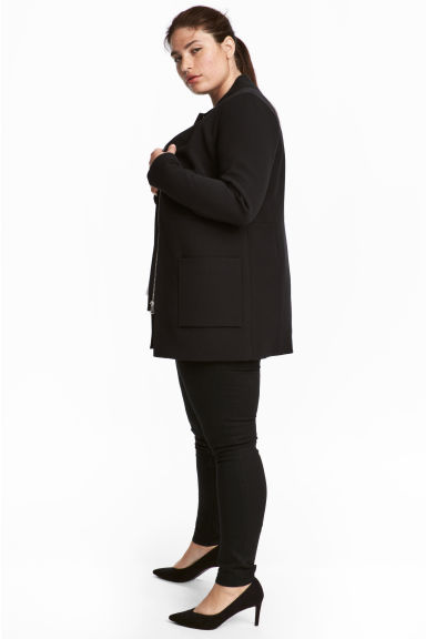 H&M+ Short coat - Black - Ladies | H&M 1