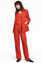Pull-on trousers - Red - Ladies | H&M IE 1