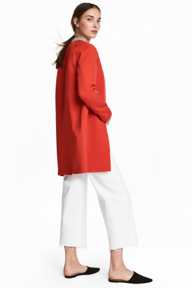 Short coat - Red -  | H&M
