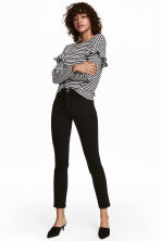 Ankle-length stretch trousers - Black - Ladies | H&M 1