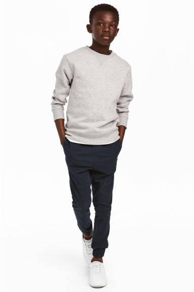 Joggers in twill - Blu scuro - BAMBINO | H&M IT 1