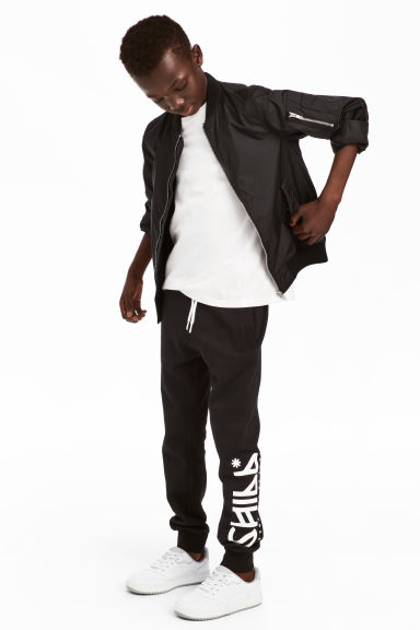Joggers - Black - Kids | H&M CA 1