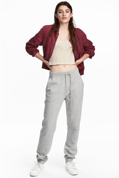 Sweatpants - Grey marl - Ladies | H&M 1