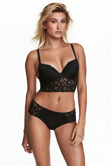 Mesh hipster briefs - Black - Ladies | H&M CN 1