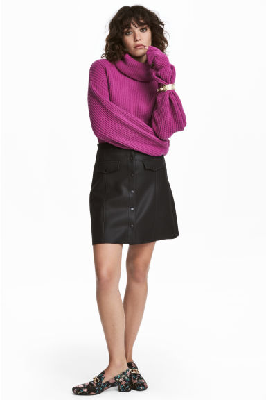 Flared skirt - Black -  | H&M IE