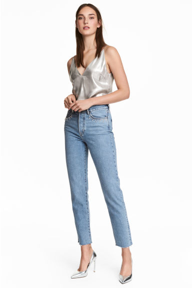 Vintage High Jeans - Light denim blue - Ladies | H&M CN 1